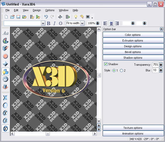 Программу 3D Xara